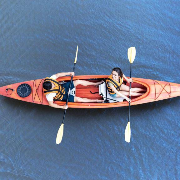 Areena Riverside Resort Canoeing