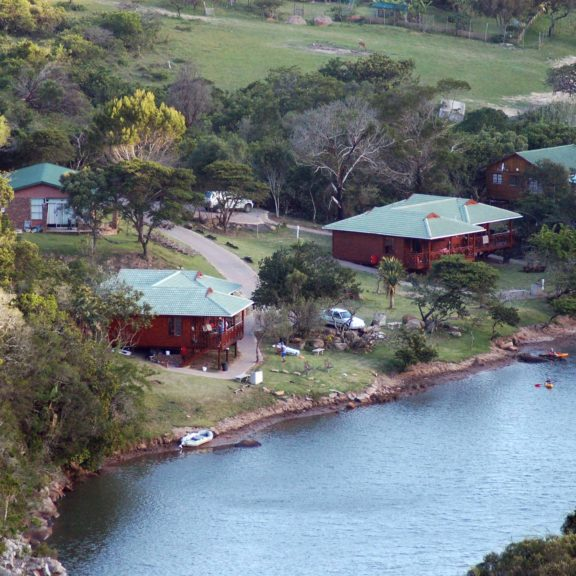 Areena Riverside Resort Accommodation Timber Chalets 2