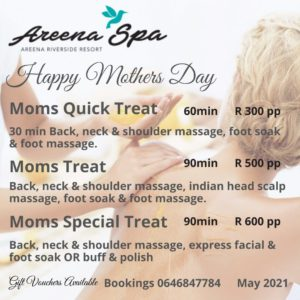 Areena Spa May Specials