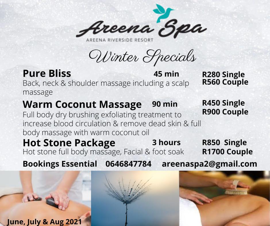 Areena Spa Winter Specials