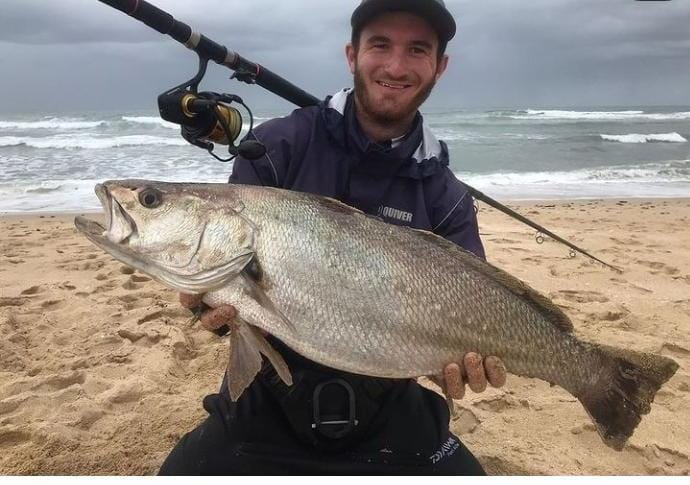 Matthew with his kob